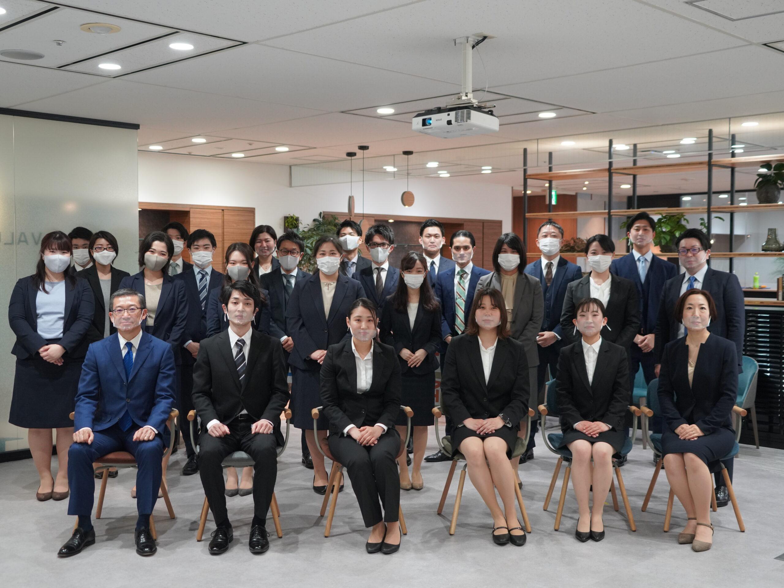 2021年 新入社員が4名入社しました。